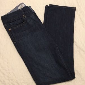 Gap Real Straight Jeans, Size 10 R